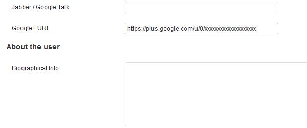 Верификация на авторство в Google+