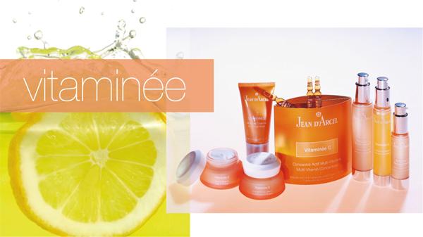 Vitaminee професионална козметика за лице от Jean d'Arcel cosmetique - елексирът на младостта