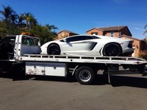 пътна помощ за ниски коли и спортни