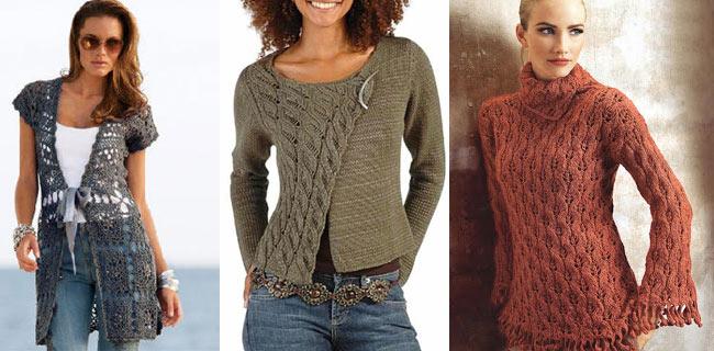 Дамски дрехи от плетиво