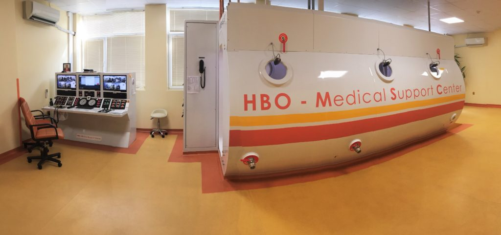 барокамера в HBO Medical Support Center