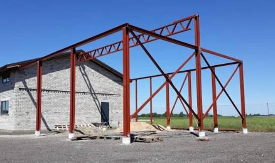 Конструкции от метал за постройки